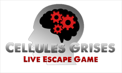 Logo escape game cellules Grises Evreux